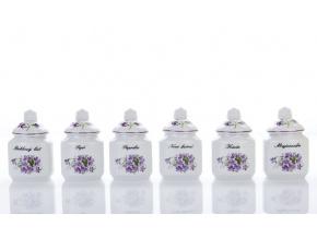 dozy na koreni fialky cesky porcelan Porcelanovy svet