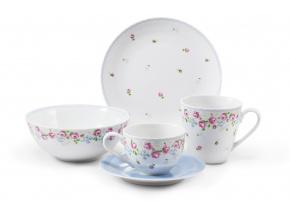 roseline porcelánový svět snídaň. set 1