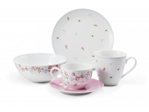 roseline porcelánový svět snídaň. set 2