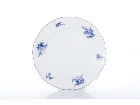 dezertní porcelánový talíř 19 cm rose modré růže thun procelánový svět