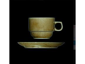 Šálek s podšálkem 190 ml, český porcelán, Country Range, G. Benedikt