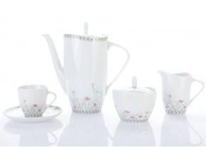 kávová souprava silvie drobné kvítky porcelánový svět