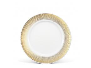 Porcelánový talíř Sabina 21 cm andělská křídla zlato Leander Porcelánový svět