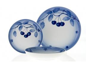 talířová souprava tom modré třešně thun porcelánový svět