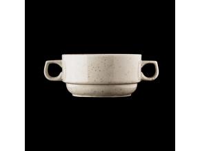 porcelánový šálek na polévku 390 ml Lifestyle Natural lsn1139 v