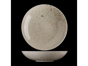 Hluboký porcelánový talíř Lifestyle Natural 26 cm lcn1926 v