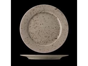 Mělký porcelánový talíř Lifestyle Natural 28 cm lsn2128 v