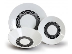 lea talirova souprava cerne pruhy thun porcelanovy svet 18 ks