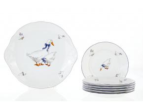 kolacova souprava husy porcelan thun
