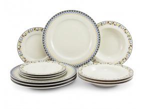 Porcelánová talířová sada, NatureLine, Leander