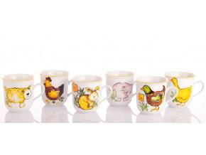detske hrnky 170 vesnicka zviratka český porcelan porcelanovy svet
