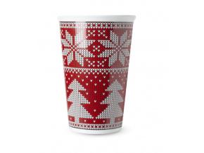 Vánoční hrnek na kávu s sebou