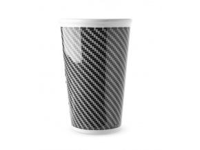 hrnek na kávu s sebou - geometrický vzor
