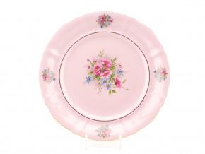 Mísa kulatá 32 cm, Sonáta, růžový porcelán, květiny, Leander