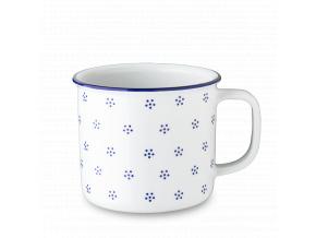Retro hrnek, porcelán, 750 ml, modrá Valbella, G. Benedikt