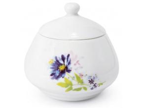 Cukřenka, český porcelán, 0,3 l, Palouček z Louček, Leander