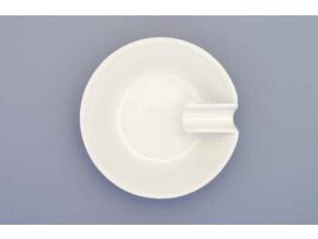 Bohemia White, popelník, bílý, 10 cm, český porcelán, Dubí