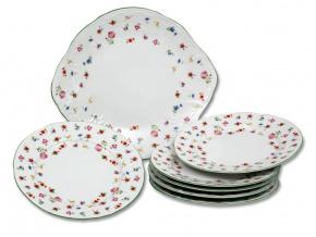 koláčová souprava Bernadotte luční květy 240 ml porcelán Thun