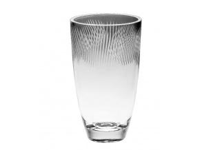 skleněná váza Crystal Bohemia 30 cm