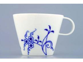 Bohemia Cobalt, šálek a podšálek kávový, 145 ml, porcelán, Dubí