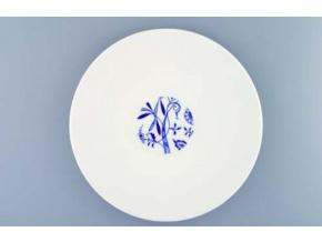 Bohemia Cobalt, talíř mělký, 28 cm, český porcelán, Dubí