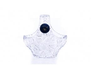 Skleněný košíček, 11 cm, Český křišťál, Crystal Bohemia