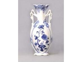 Porcelánový váza secesní, 20,5 cm, český porcelán