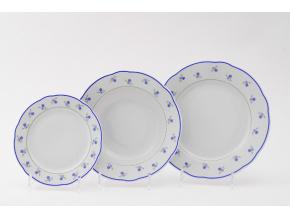 Mary-Anne, sada talířů, pomněnky, Leander, 18 dílná