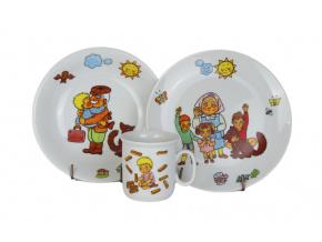 Dětská porcelánová souprava Honzíkova cesta, Thun RZ