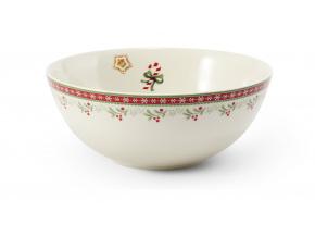 Miska, porcelán, Vánoční perníčky, 16 cm, Leander