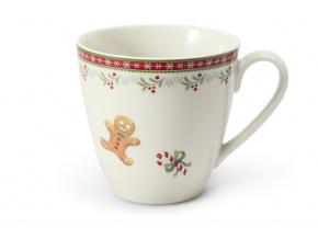 hrnek, porcelán, vánoce, perníčky, Leander, 300 ml