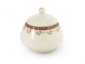 cukřenka, porcelán, vánoce, perníčky, Leander, 300 ml