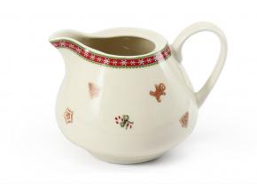 mlékovka, porcelán, vánoce, perníčky, Leander, 350 ml