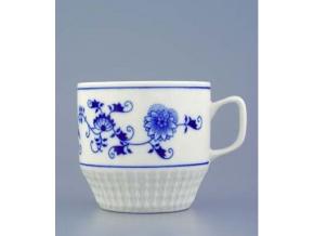 Hrnek Fuji 0,26 l,  cibulák, Český porcelán