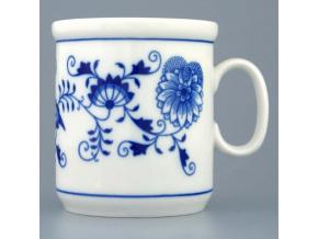 Hrnek Henry M  0,27 l,  cibulák, Český porcelán