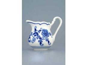Mlékovka vysoká  0,16 l,  cibulák,  Český porcelán