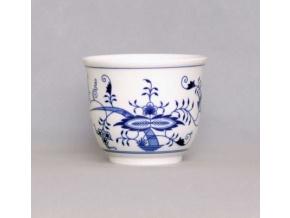 Květináč malý bez uch  10, 9 cm, cibulák, Český porcelán