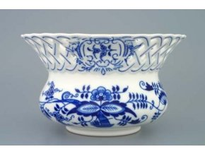 Květináč prolamovaný  11 cm, cibulák, Český porcelán