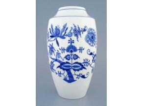 Váza 27 cm, cibulák, Český porcelán