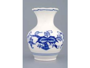Váza 13,5 cm, cibulák, Český porcelán