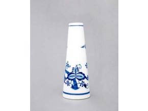 Váza úzká  15,2 cm, cibulák, Český porcelán