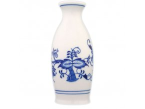 Nádobka na saké 16 cm, cibulák, Český porcelán