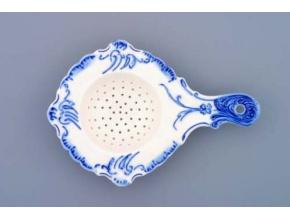 Sítko na čaj  16 cm,  cibulák, Český porcelán