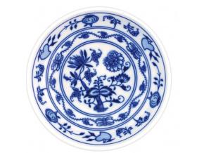 Miska hladká nízká 14 cm, cibulák, Český porcelán