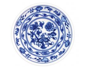 Miska hladká nízká 16,2 cm, cibulák, Český porcelán