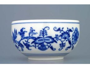 Miska hladká vysoká 11 cm, cibulák, Český porcelán