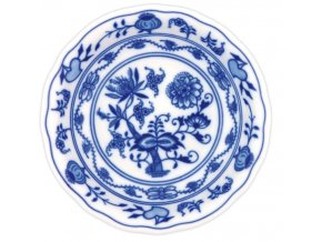 Miska kompotová 13 cm, cibulák, Český porcelán