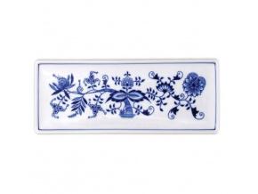 Miska na rybu 27,5 x 10,4 cm, cibulák, Český porcelán