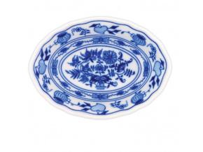 Miska raviere oválná 15 cm, cibulák, Český porcelán