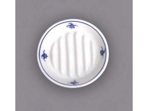 Hygienická souprava - mýdelníček 12,5 cm,  cibulák, Český porcelán